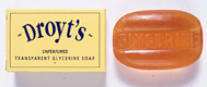 DROYT Unperfumed Glycerine Soap - 100g