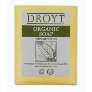 DROYT ORGANIC bar soap 125g