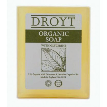 DROYT ORGANIC bar soap 125g