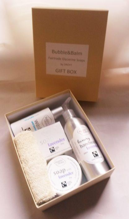 Bubble & Balm gift box