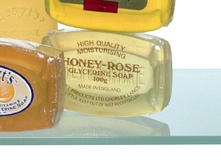 DROYT Honey Rose glycerine soap